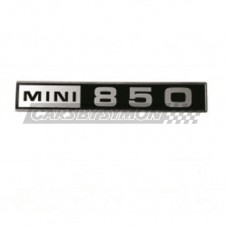"EMBLEMA ""MINI 850"" MALETERO"