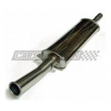 SILENCIOSO MINI RC40 SALIDA CENTRAL(5.75 DIA.)INOX