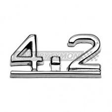 "ANAGRAMA MALETERO JAGUAR E TYPE ""4.2"""